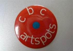 ArtSpots button